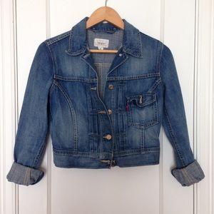 Levi's S crop Jean jacket